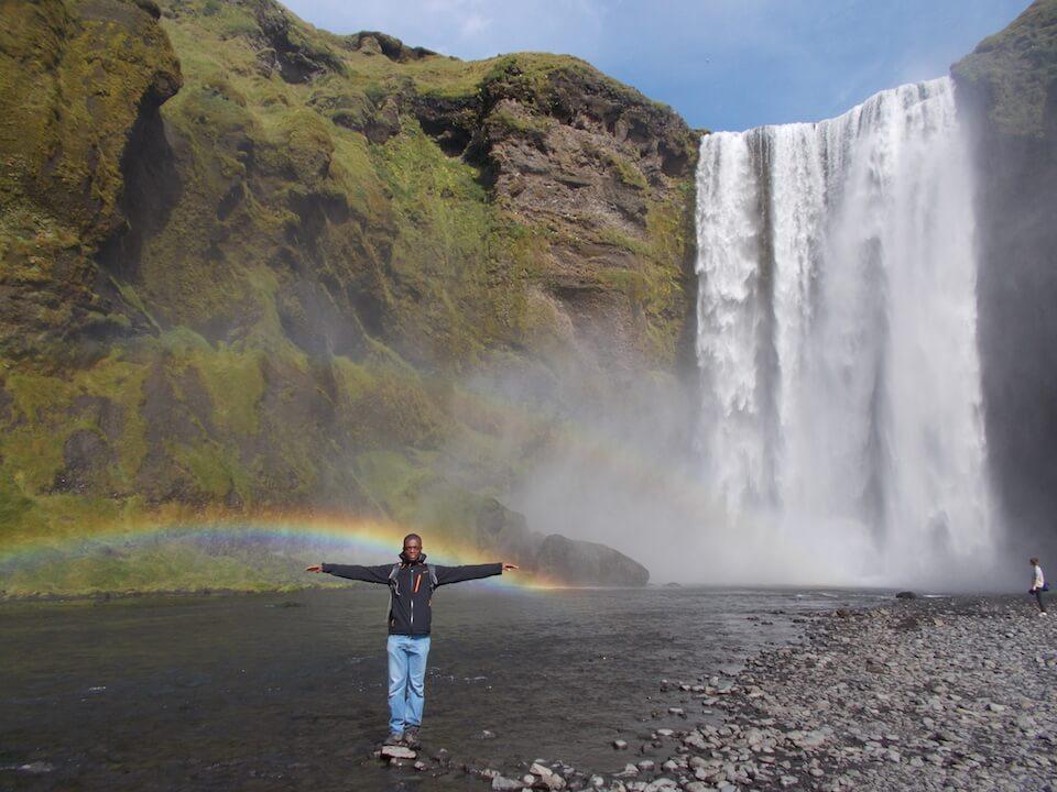 Lyderic en volontariat en Islande