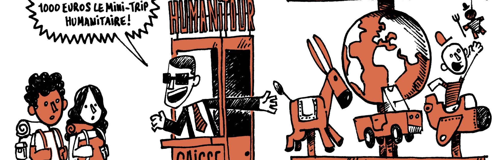 volontourisme caricature
