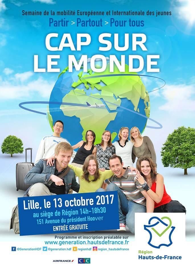 Cap sur le monde Lille 2017