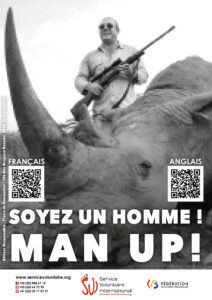 Shock campaign: Man up!