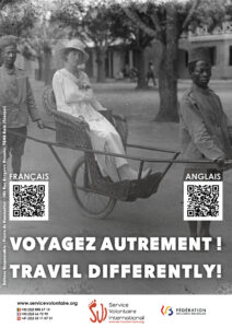 Shock campaign: TRAVEL DIFFERENTLY!