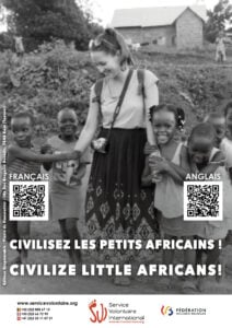 Shock campaign: civilize little africans!