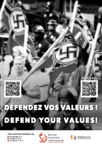 Shock campaign: defend your values!