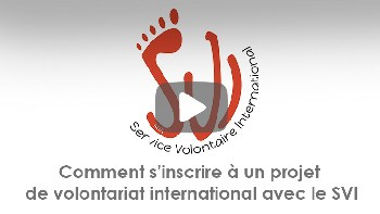 Comment s'inscrire à un projet de volontariat international avec le SVI