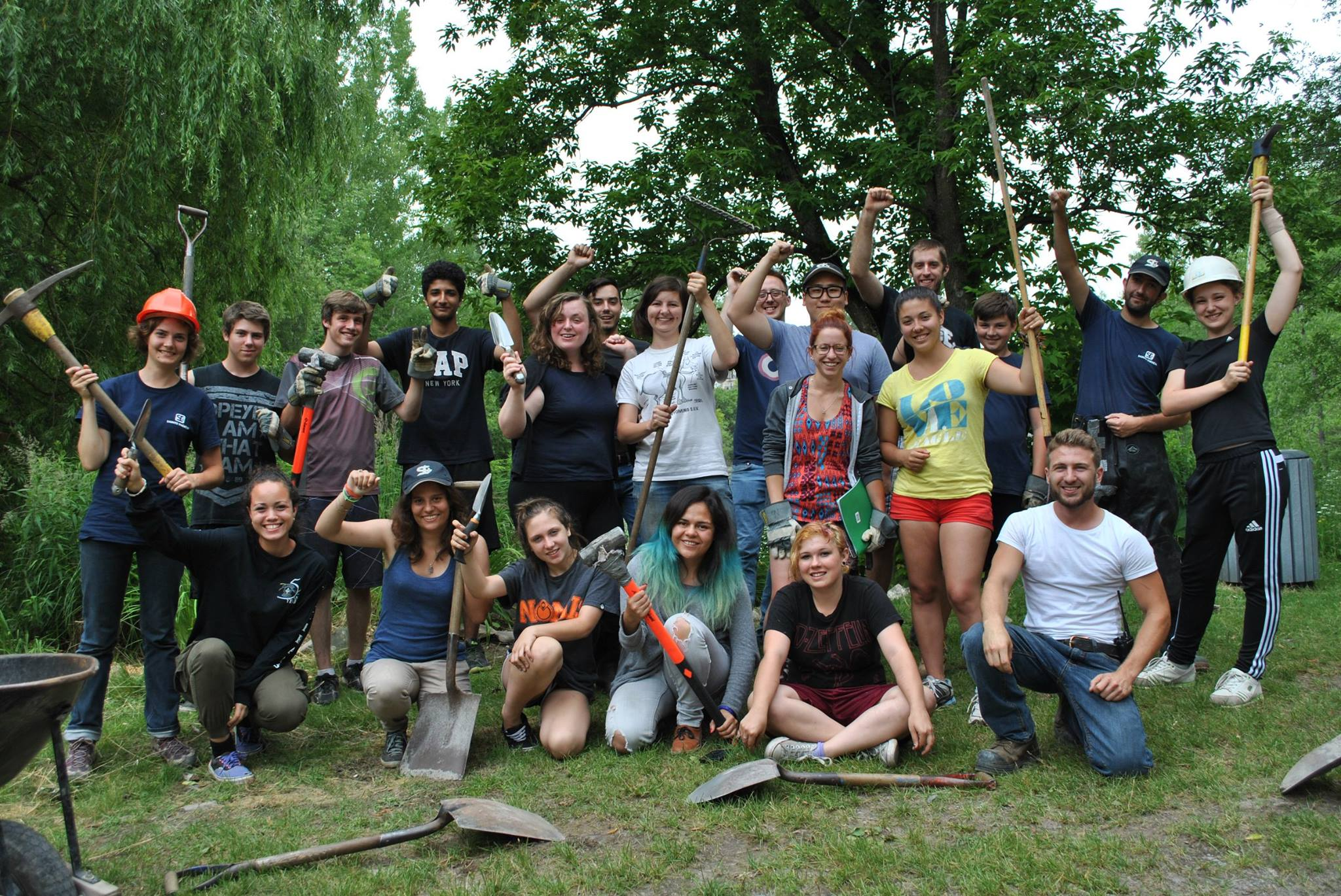 volunteer project: Sainte-Thérèse I photo 1