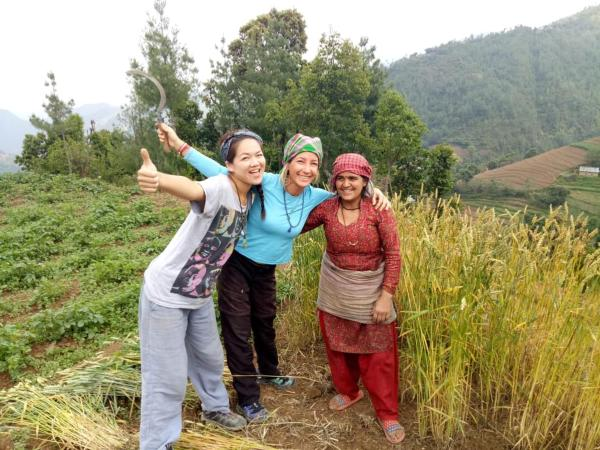 volunteer project: Organic Agriculture and Retreat photo 2
