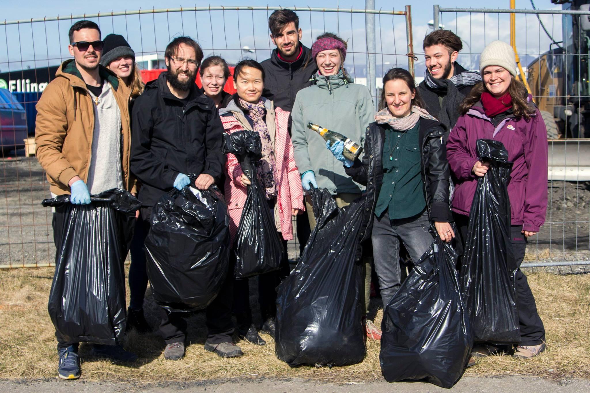 volunteer project: ENVIRONMENTALLY AWARE: IN REYKJAVIK photo 1