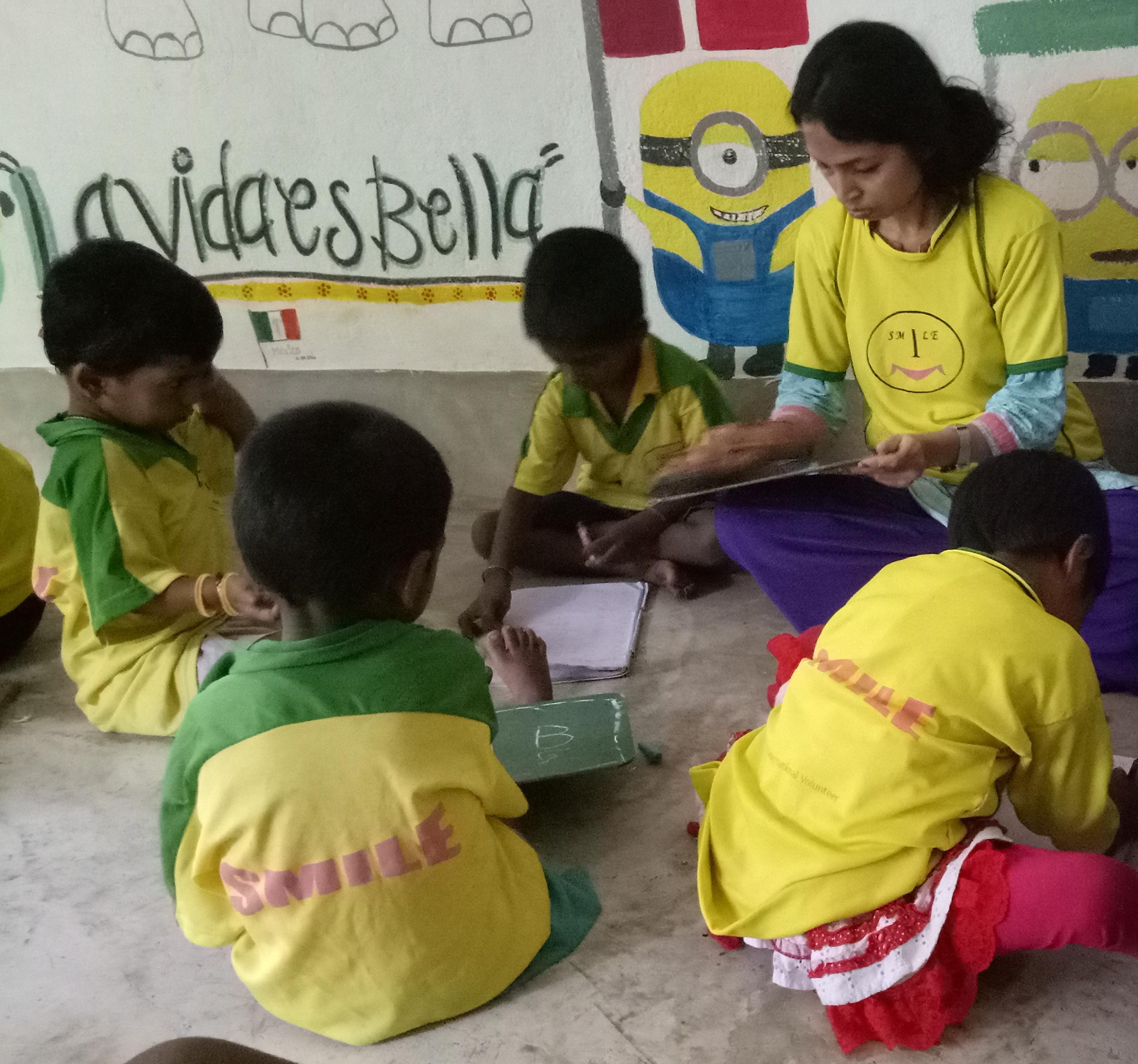 volunteer project: Street Children Teaching photo 3