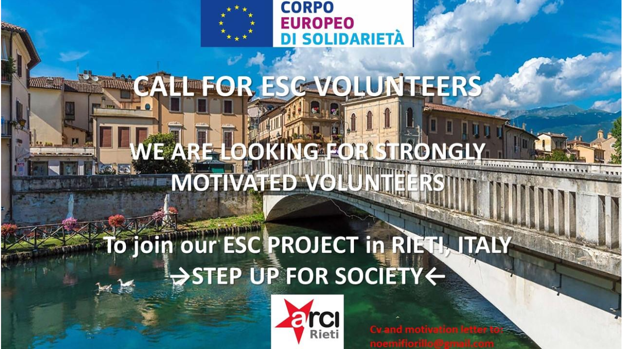 volunteer project: Step up for society - ESC in Italy photo 2