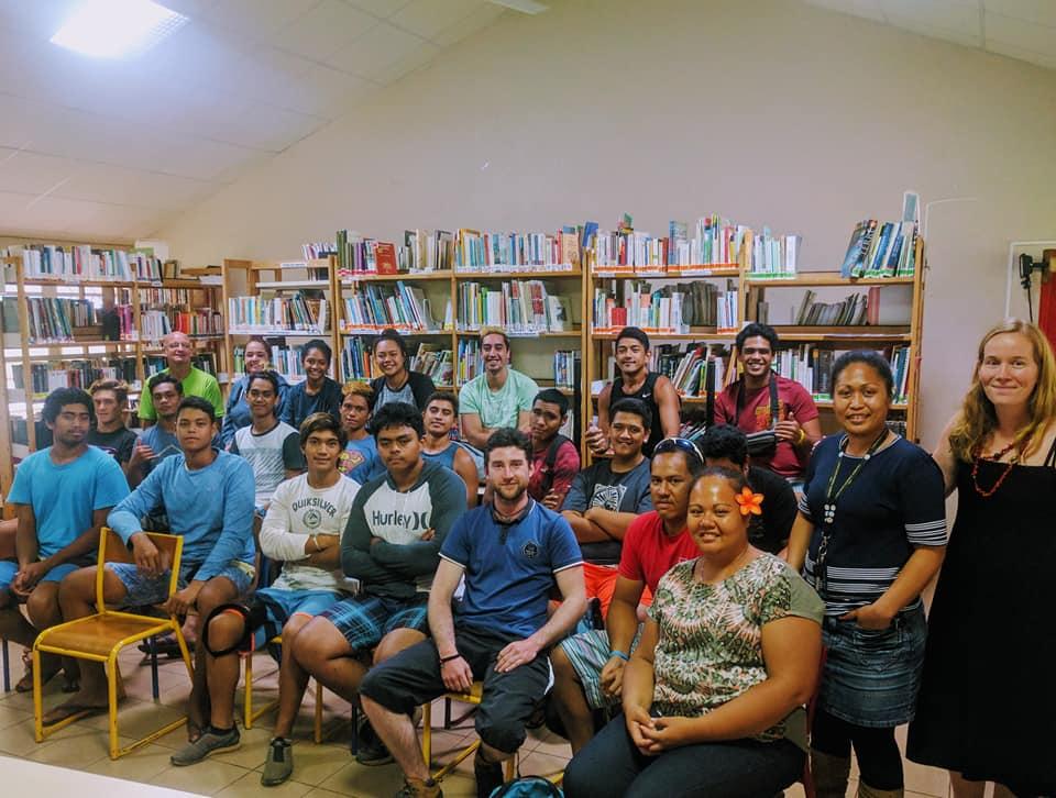 volunteer project: Partageons nos cultures! Polynésie Française  photo 2