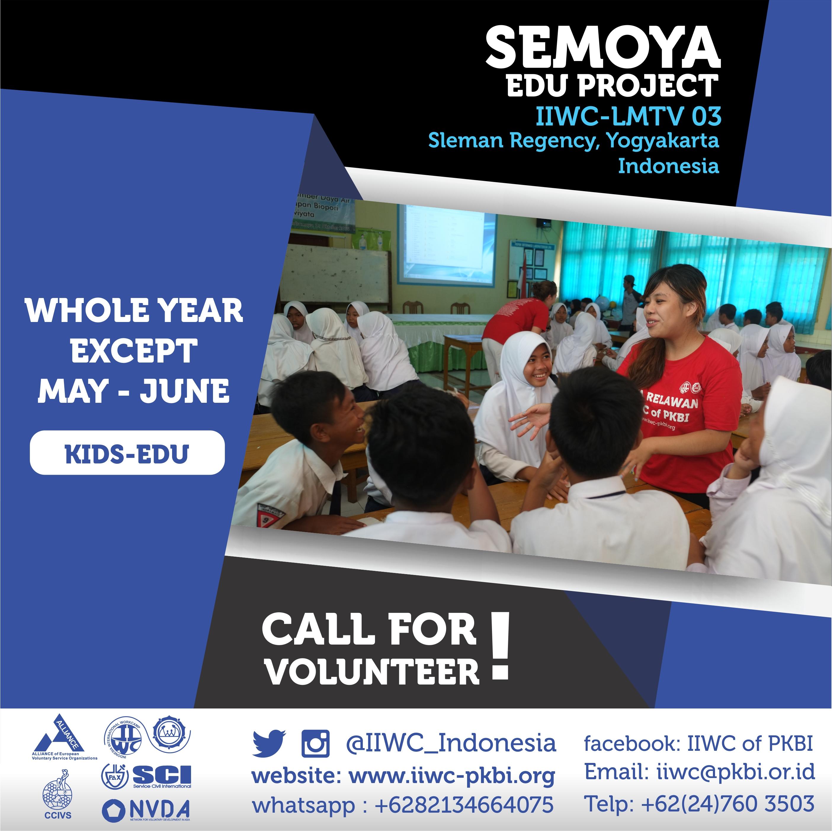 volunteer project: SEMOYA EDUCATION PROJECT photo 1