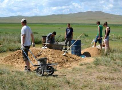 volunteer project: Eco farm planting photo 1