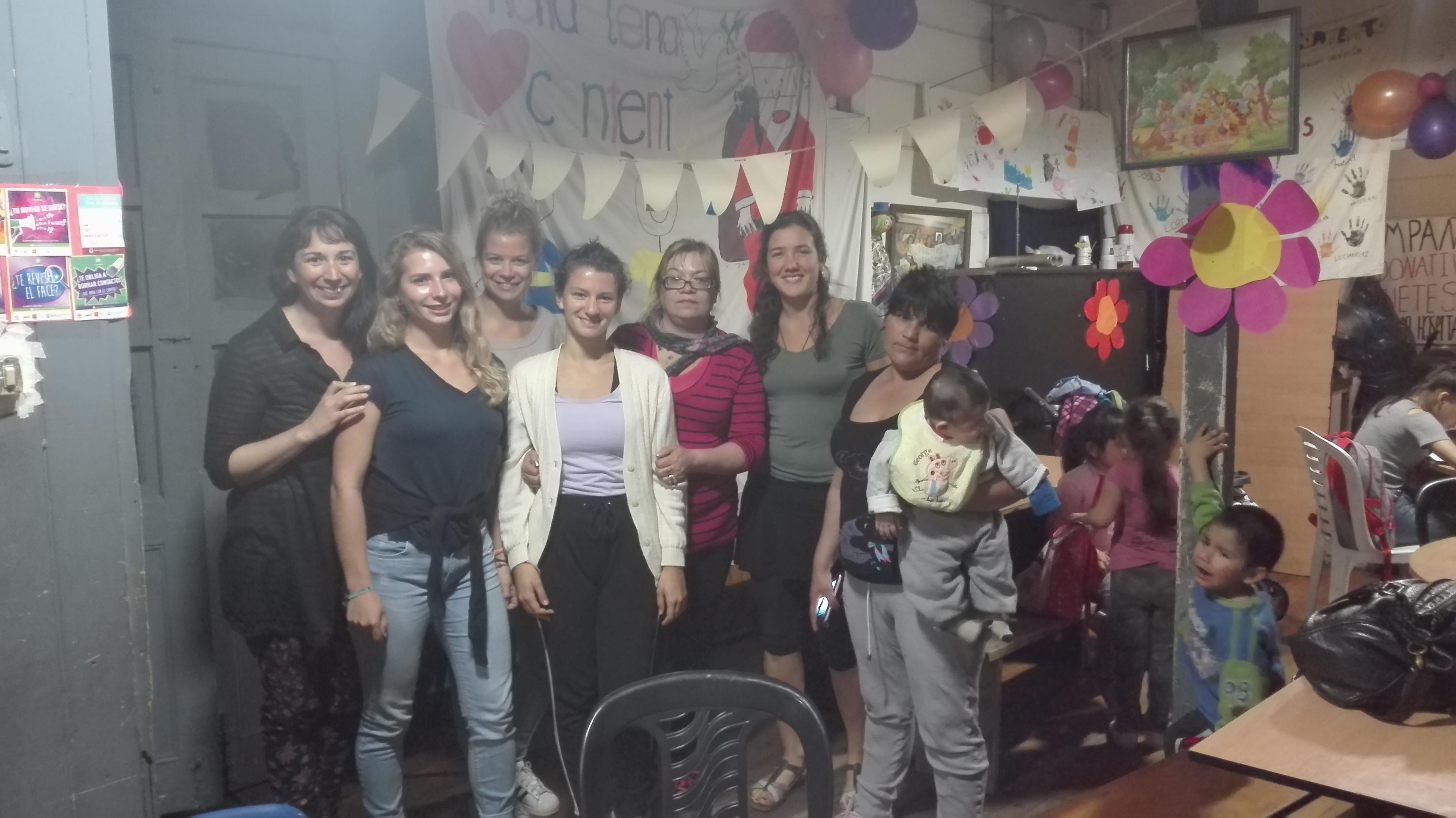 volunteer project: PANCITA LLENA CORAZON CONTENTO photo 2