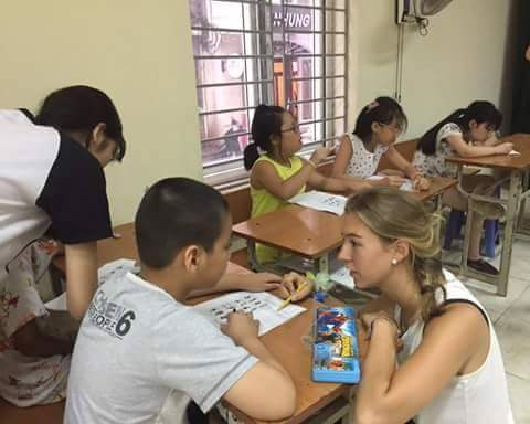 volunteer project: From Ears to Mouth – Teaching English and interacting with children in local community photo 2