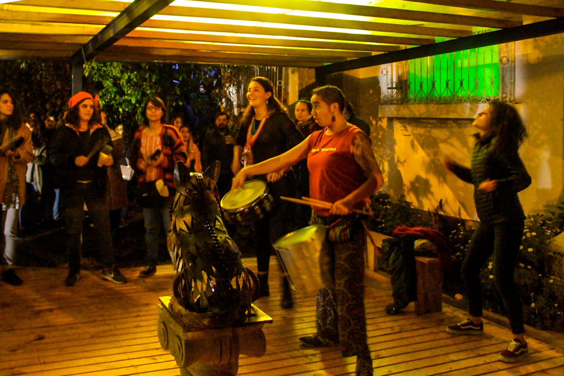 volunteer project: El Útero : centre des arts et de la culture à Quito photo 6