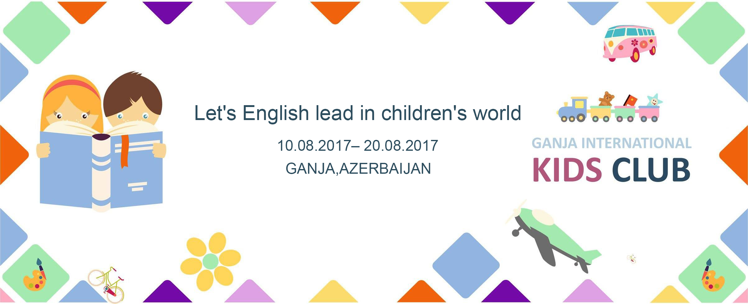 volunteer project: Let's English lead in children's world photo 1
