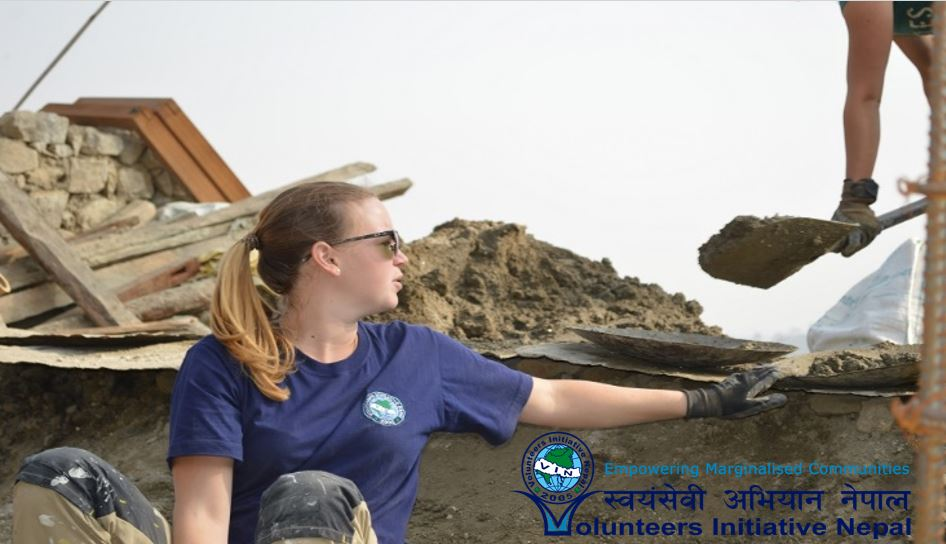 volunteer project: House Rebuilding Support photo 1