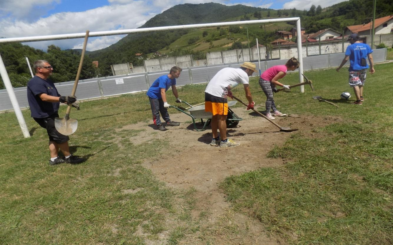 volunteer project: International youth working camp photo 21