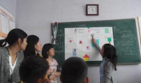 volunteer project: SCHOOL-1 (ULAANBAATAR) photo 1