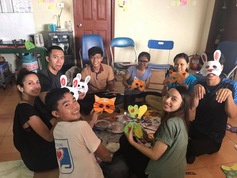 volunteer project: Assisting to train Vietnamese students to be international students  with efficient English skills photo 2