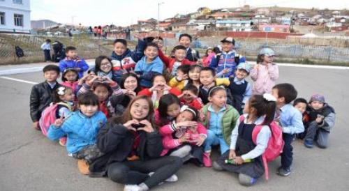 volunteer project: SCHOOL-1 (ULAANBAATAR) photo 2