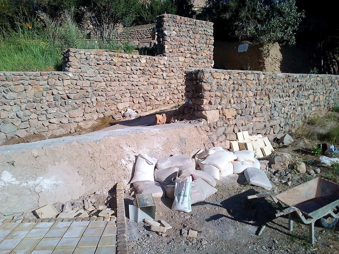 volunteer project: Rehabilitation of the rural cultural landscape of Iraaj village photo 2