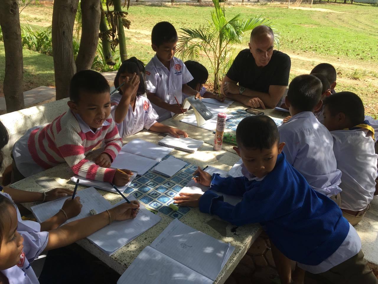 volunteer project: INTERCULTURAL LANGUAGE NAKHON RATCHASI photo 1