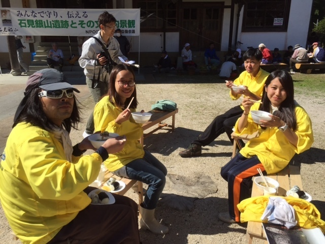 volunteer project: Iwami-ginzan 17-5 (Shimane) photo 2