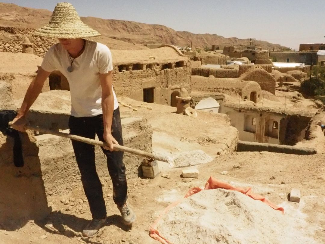 volunteer project: Rehabilitation of the rural cultural landscape of Iraaj village photo 1