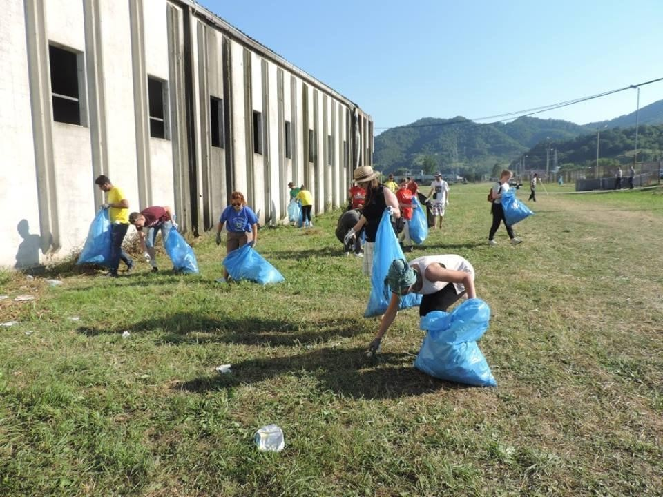 volunteer project: International youth working camp photo 16