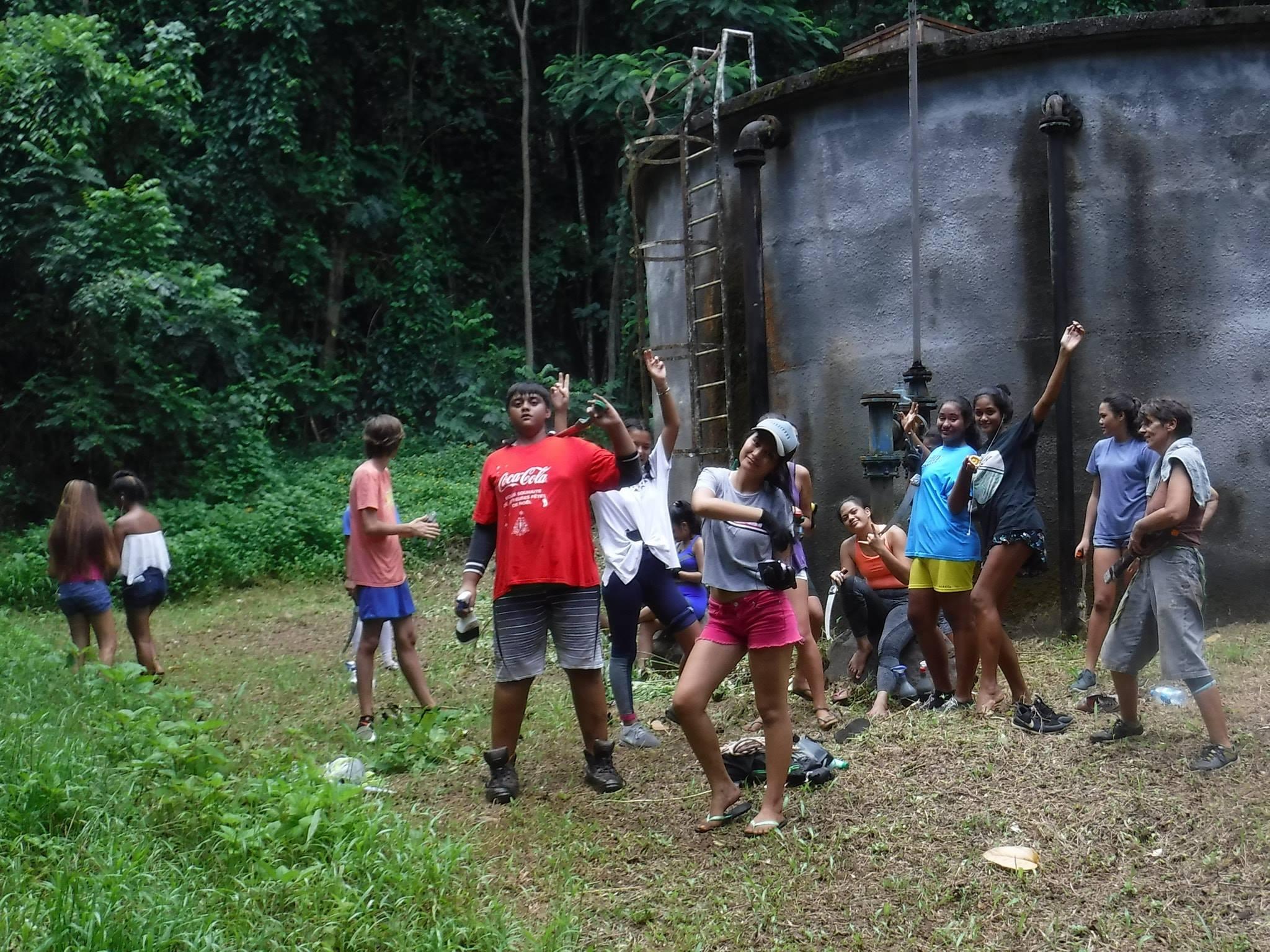 volunteer project: Partageons nos cultures! Polynésie Française  photo 3