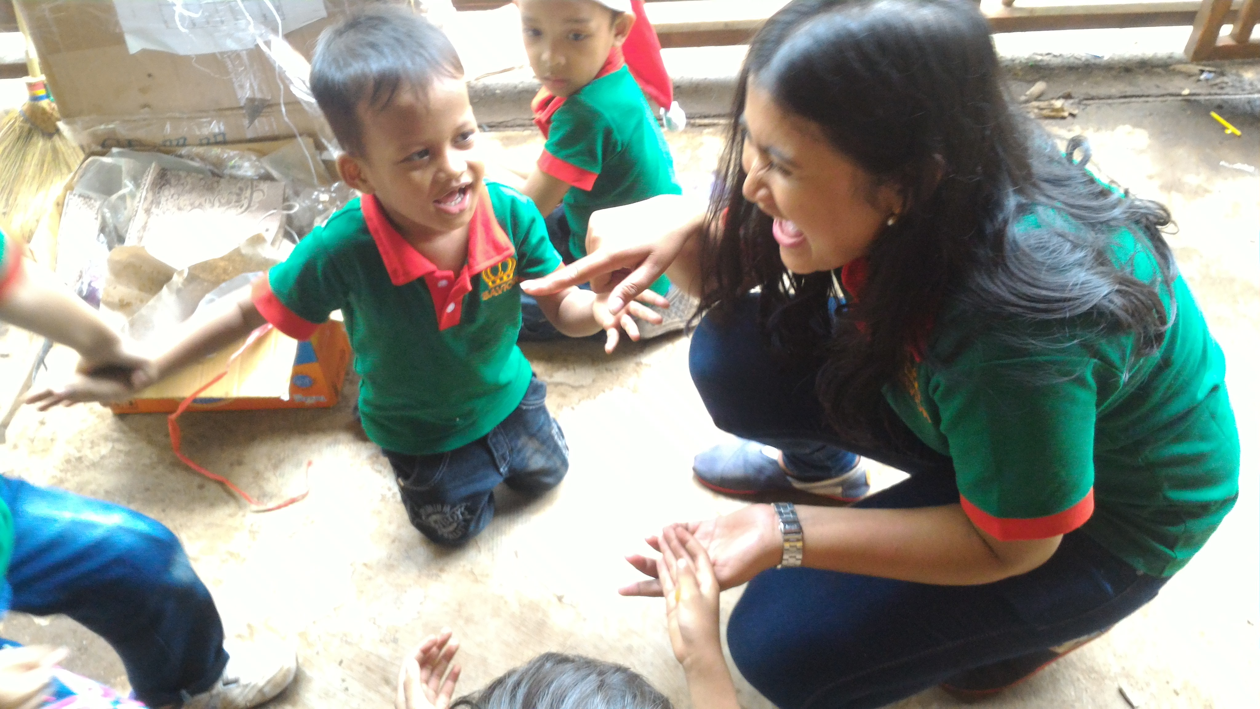 volunteer project: Bahtera Kasih Xmas Camp photo 2